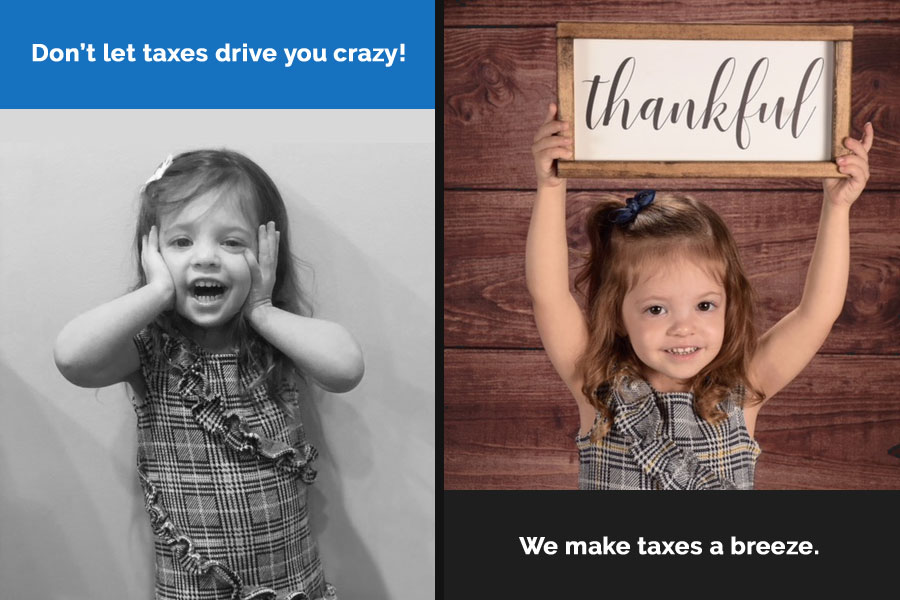 Don't let taxes drive you crazy!